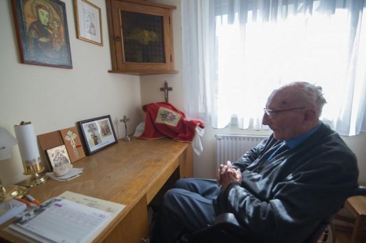 Vendégségben Obbágy Miklósnál, az ország legidősebb görögkatolikus papjánál