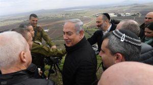 Az izraeli támadás előtt Netanyahu meglátogatta a Golán-fennsíkot