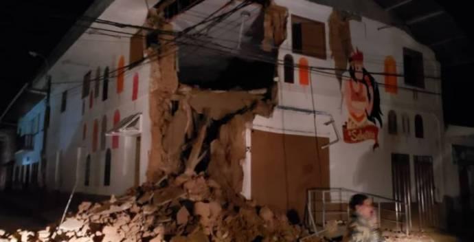 Hatalmas földrengés volt Peruban
