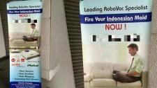 Dobja ki az indonéziait, vegyen porszívót!