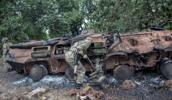 Tüzérségi tűz alatt tartják Szlovjanszkot