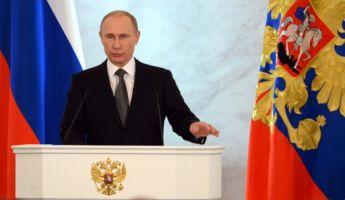 Putyin hitleri példával figyelmeztette Oroszország ellenségeit