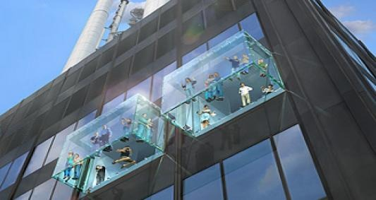 Megrepedt a chicagói kilátó üvegpadlója 412 méteren