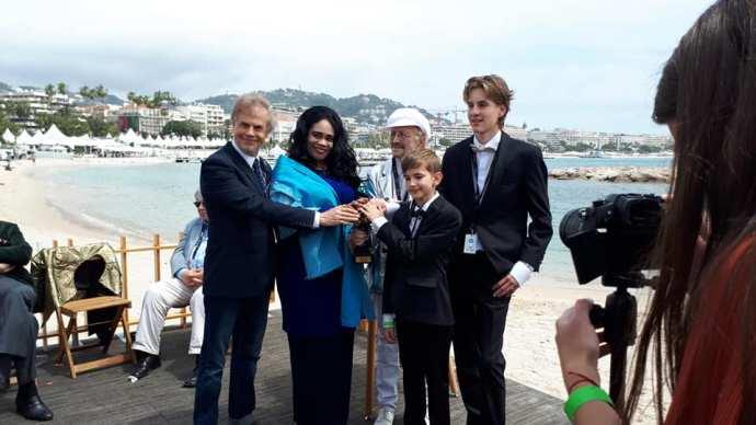 13 éves magyar fiún ámult Cannes-ban a filmes világ