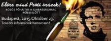 Október 23. Budapesten – Folyamatosan frissítjük!