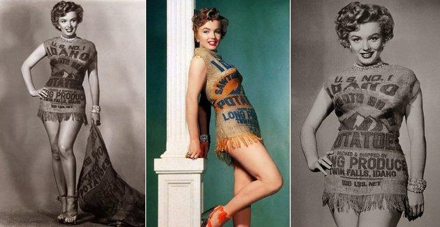 Miért öltözött Marilyn Monroe krumpliszsákba 1951-ben?
