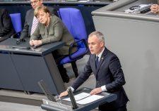 Heves vita a német parlamentben