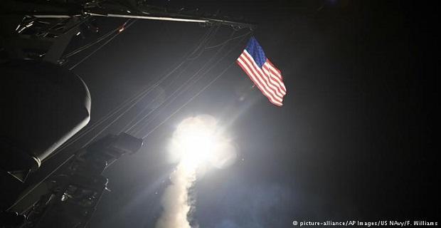 Az Egyesült Államok és szövetségesei csapást mértek a szír fővárosra