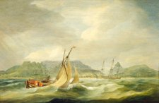 Megbilincselt foglyokkal sülyedt a mélybe a rabszolgahajó