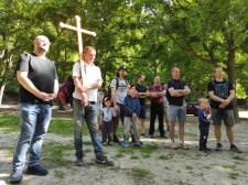 Családok zarándokoltak Szent József nyomán a Veszprémi Főegyházmegyében