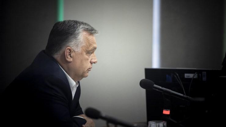 Orbán Viktor: az őszödi beszéd máig dermesztő