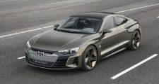 Elképesztően menőn néz ki az Audi sportos villanyautója