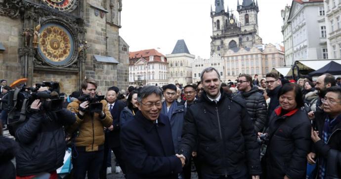 Sanghaj mindenféle hivatalos kapcsolatot megszakított Prágával