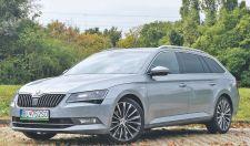 Škoda Superb kombi Laurin&Klement: a kényelmes autók koronázatlan királya