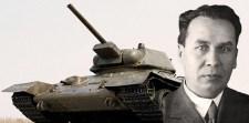 120 éve született a T-34-es harckocsi főtervezője