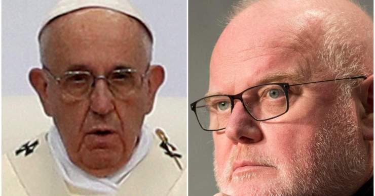 A pápa elutasította Reinhard Marx német bíboros lemondását