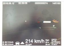 Két őrült sofőr egy órán belül: egyikük 124 km/órával lépte túl a megengedett sebességet