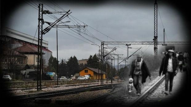 Leállították a vonatközlekedést Ausztria és Magyarország között
