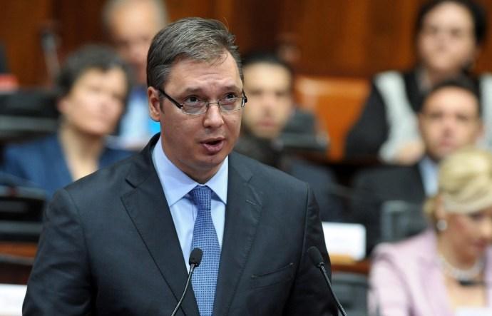 Szerbia miniszterelnöke levelet írt Orbán Viktornak