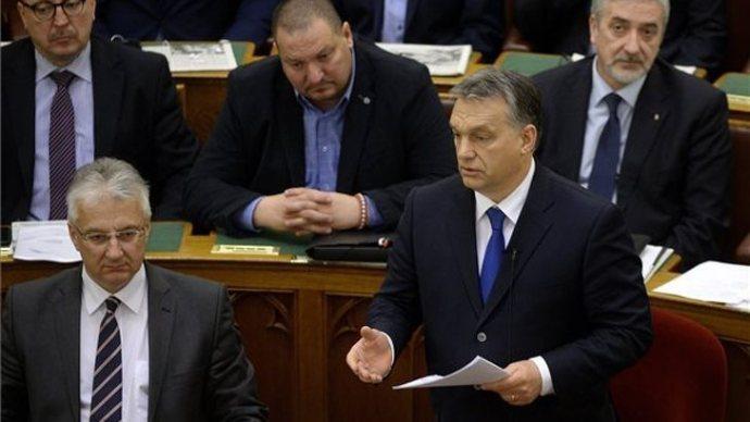 Orbán: Harminc év alatt ilyen ízléstelenséget nem hallottam