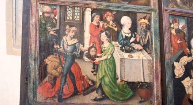 Albrecht Dürer alkotása lehet egy németországi templom egyik festménye, elözönlöttéka látogatók