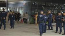 Vármegyések tisztították meg a Keleti pályaudvart (videó)