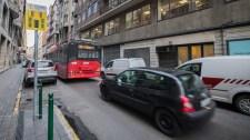Ilyennel sem találkoztak korábban a közlekedők Budapesten – fotók
