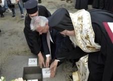 Új ortodox templom alapkövét rakták le Budapesten