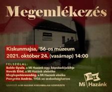 16 év után ismét Pongrátz-felszólaló az ország egyetlen 1956-os múzeumánál