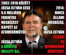 Józsa István igazi MSZP-s: következetes, és mindig a közérdeket nézi
