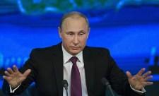 Vlagyimir Putyin: NATO-légió harcol Ukrajna oldalán