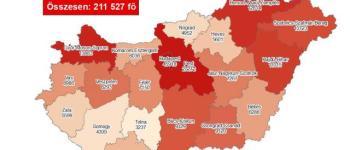 Koronavírus - Meghalt 156 beteg, 6819-cel nőtt a fertőzöttek száma