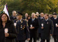A mosonmagyaróvári sortűz 65. évfordulójára emlékeztek