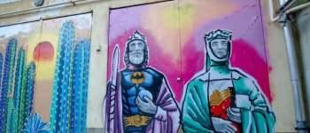 Szent Istvánt és Gizellát gyalázó graffitit fújt fel egy veszprémi civil szervezet