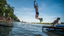 Műbalhé vagy tényleg alkalmatlan volt a Duna vize a strandolásra a Rómain?