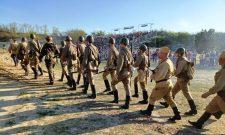 Hagyományőrző csapatok lenyűgöző bemutatója a komáromi Monostori Erődben – Képekkel