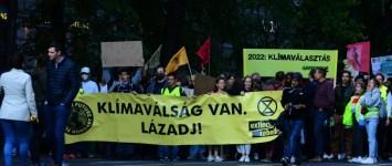 Globális klímasztrájk Budapesten