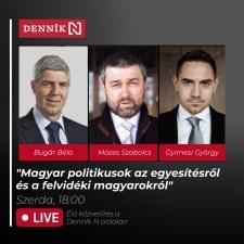 Bugár-Gyimesi-Mózes vita szlovákul Komáromban, a Matica házban