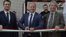 Átadtak egy új sportcsarnokot Budapesten
