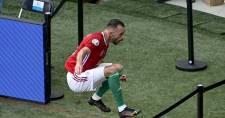 Fiola Attila most nem tudja góllal segíteni a magyar válogatottat, sérülés miatt elhagyta Telkit