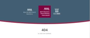 A cenzúrát is bevetette a Magyar Művészeti Akadémia, hogy ne legyen nyoma az Erdély.ma portálon felvetett ügyeknek