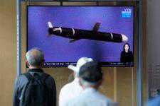 Észak-Korea nagy hatótávolságú cirkálórakétát tesztelt a hétvégén. Japánnak van oka aggódni