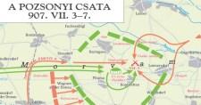 Pozsonyi csata térkép (online)