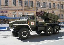 BM-21 Grad rakétavetővel erősítenek Donyeckben a szakadárok