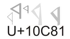 Rovás kódolási segédlet / Guide to Rovas font encoding