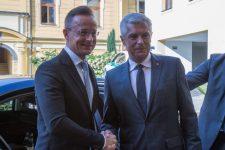 Korčok-Szijjártó találkozó: Rendszeres találkozóban és a kapcsolatok elmélyítésében egyeztek meg a külügyminiszterek