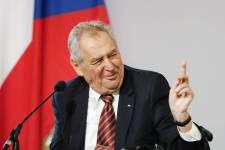 Kórházba került Miloš Zeman cseh elnök