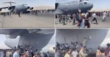 Az afganisztáni helyzetről közzétett felvételeken keresztül is mellbevág a káosz