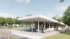 Új központ épül a Balaton partján