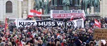 Tízezres tüntetés Bécsben a járványügyi intézkedések ellen